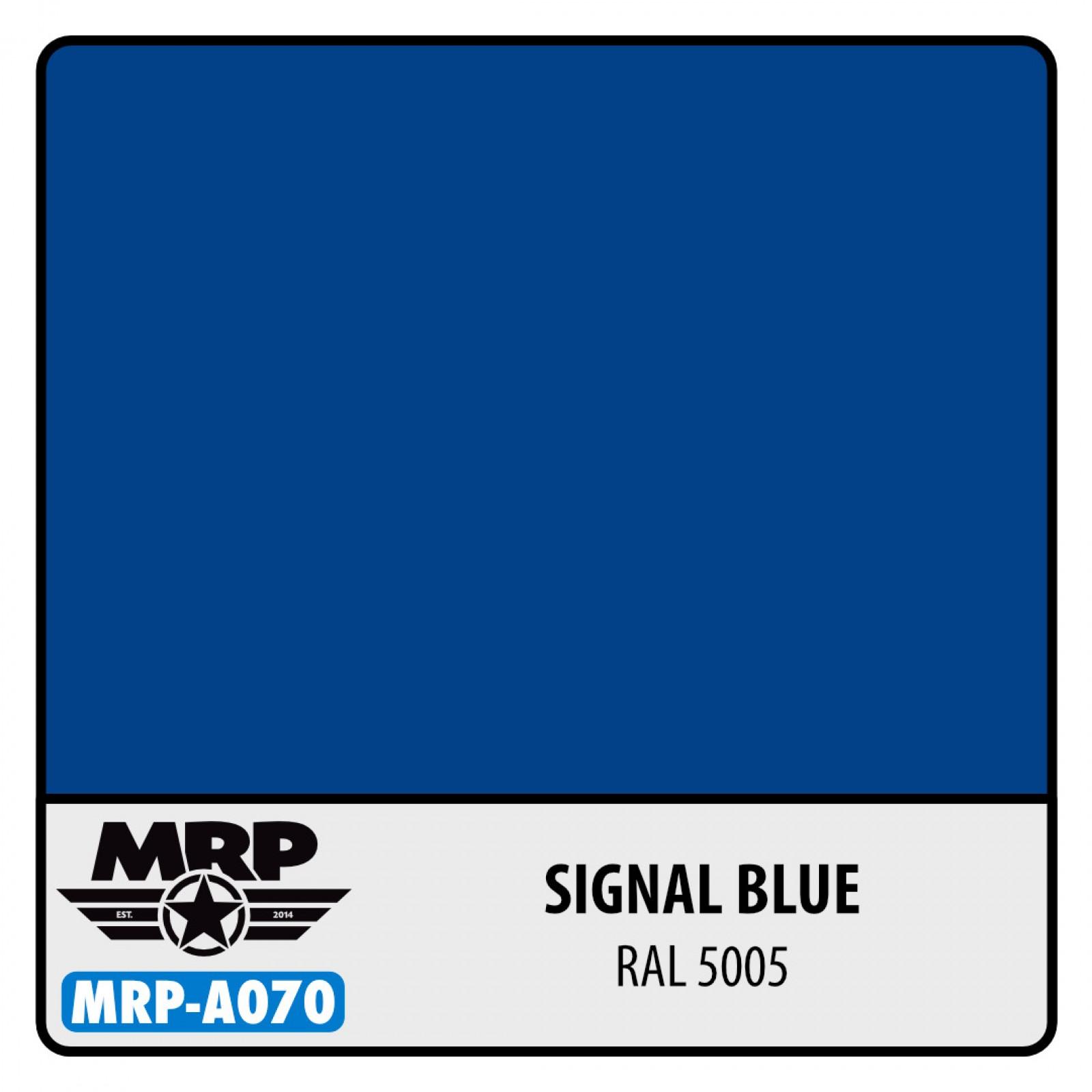MRP-A070  Signal Blue RAL 5005