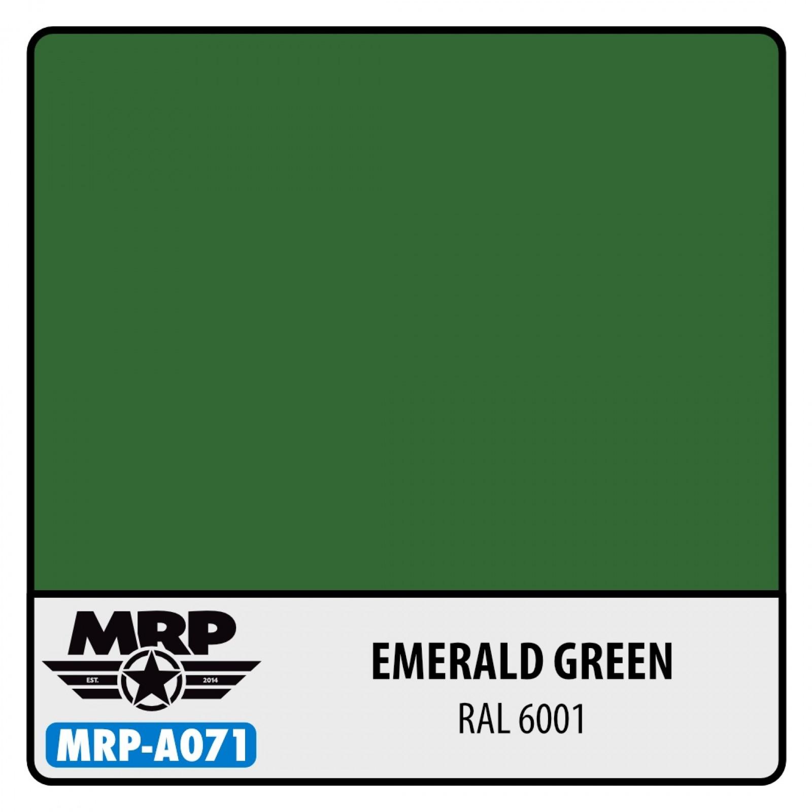 MRP-A071  Emerald Green RAL 6001