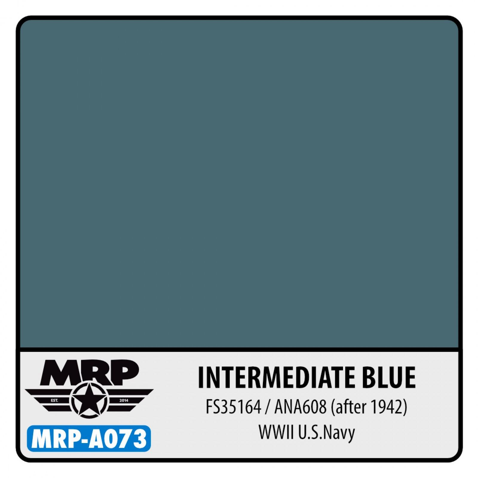 MRP-A073  INTERMEDIATE Blue  FS35164