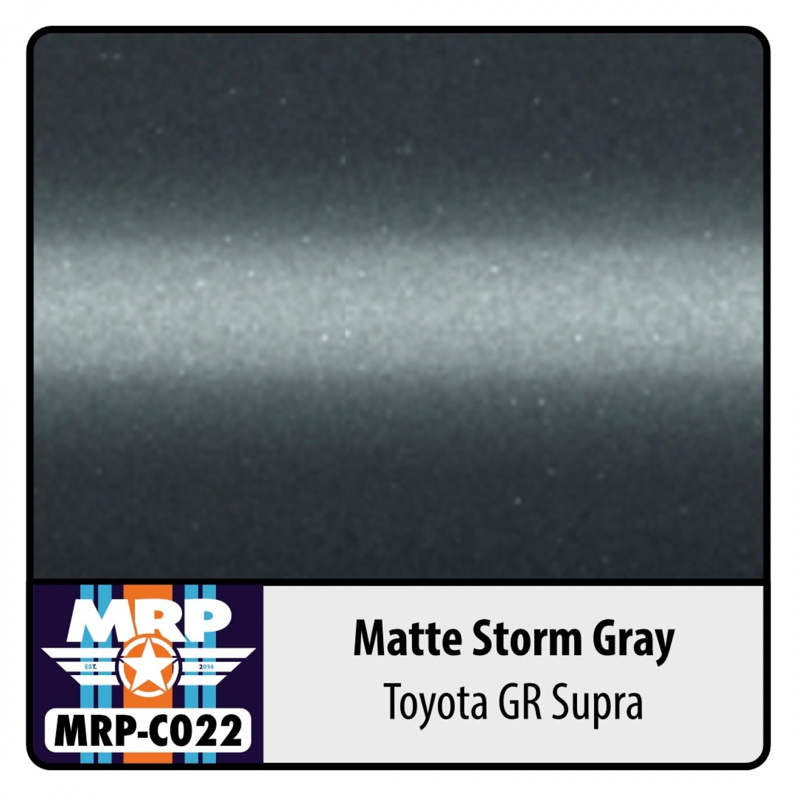MRP-C022  Toyota GR Supra Matte  Storm Gray