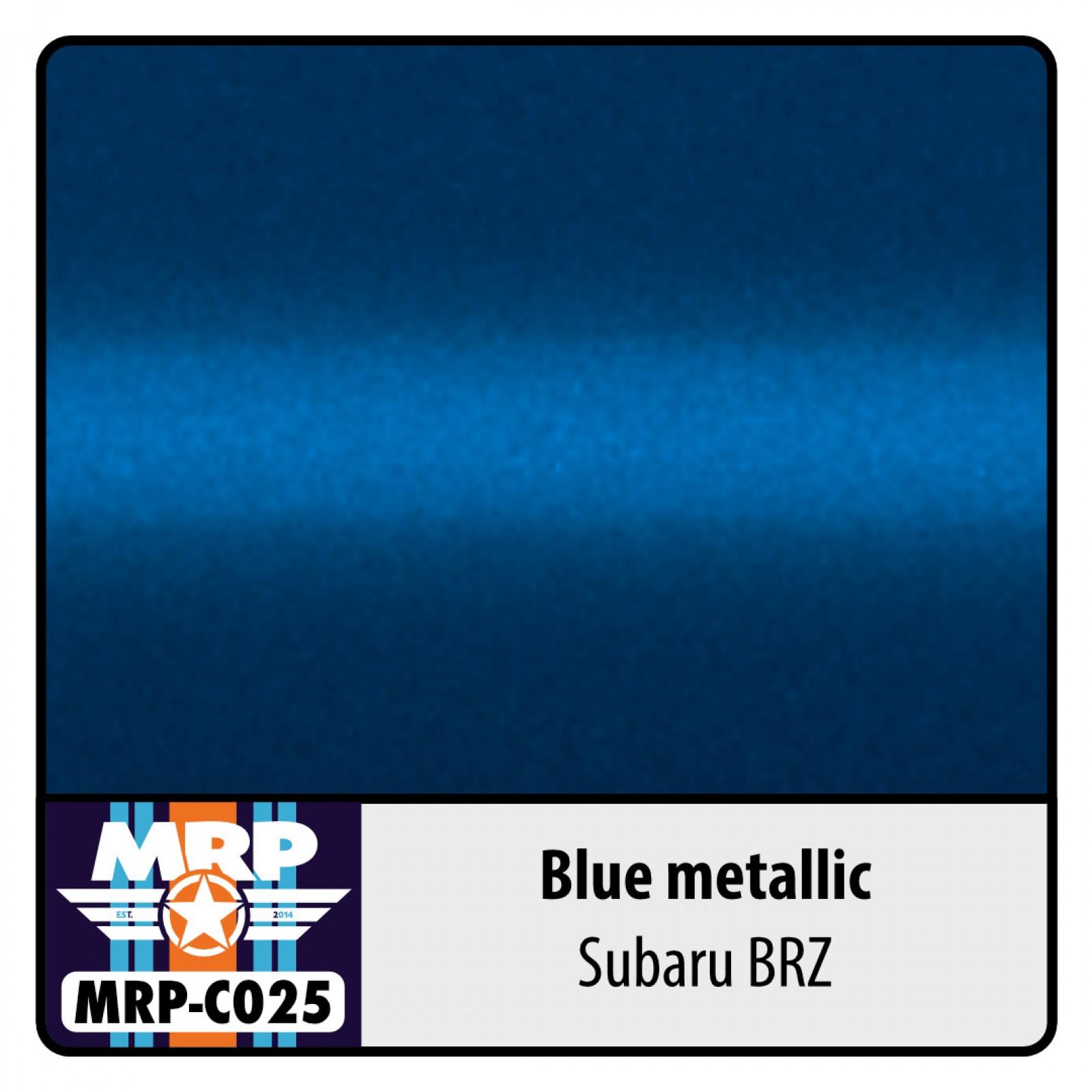 MRP-C025  Blue metallic for Subaru BRZ