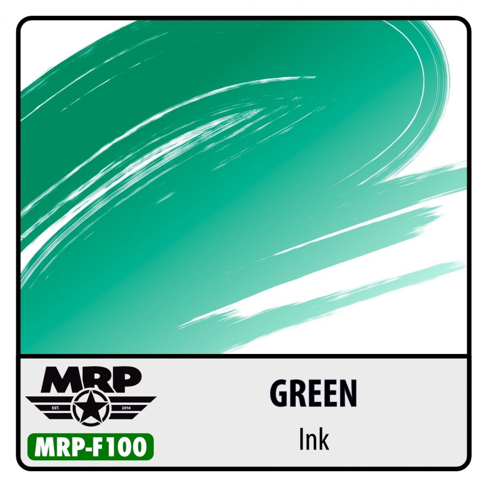 MRP-F100  GREEN - Ink