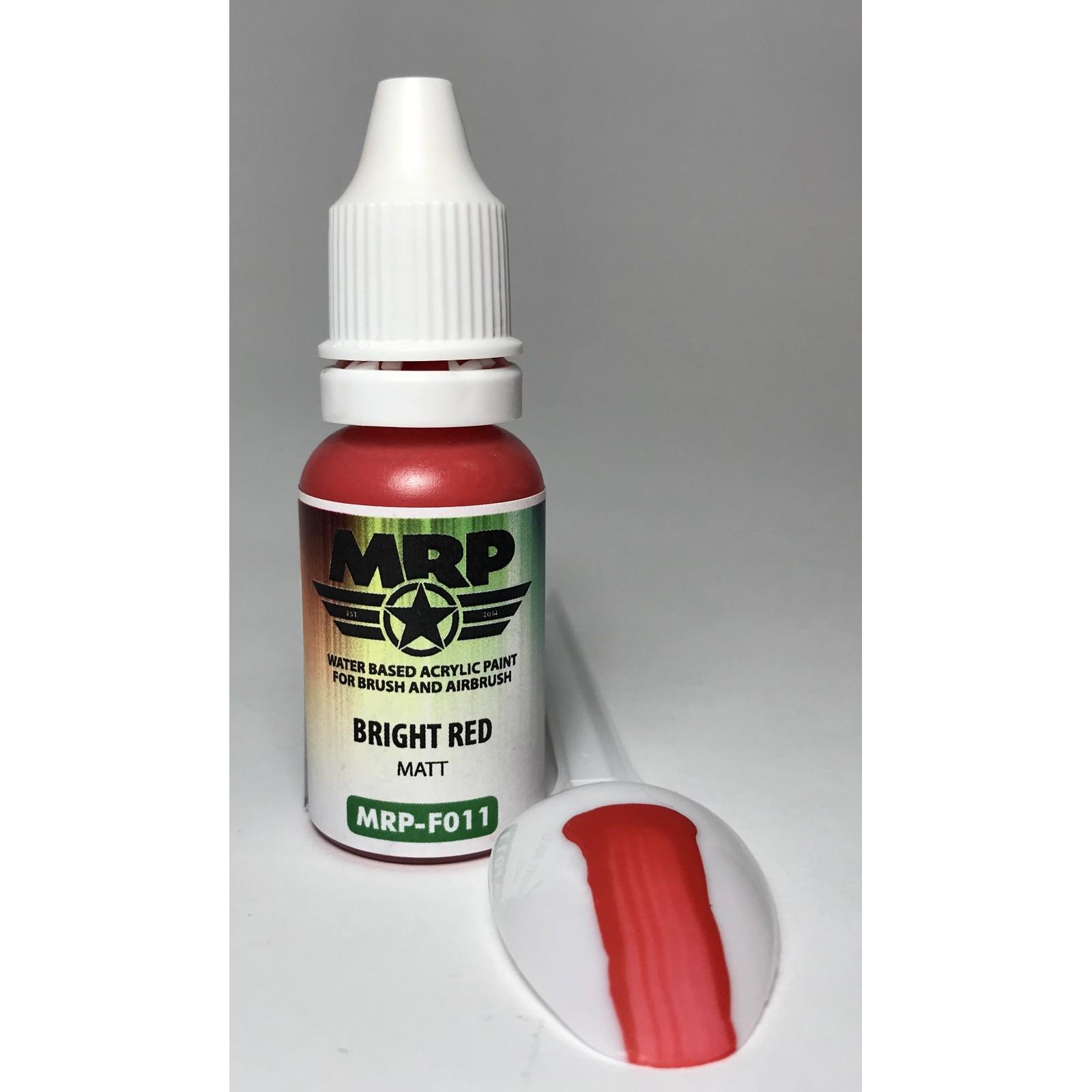 MRP-F011  Bright Red