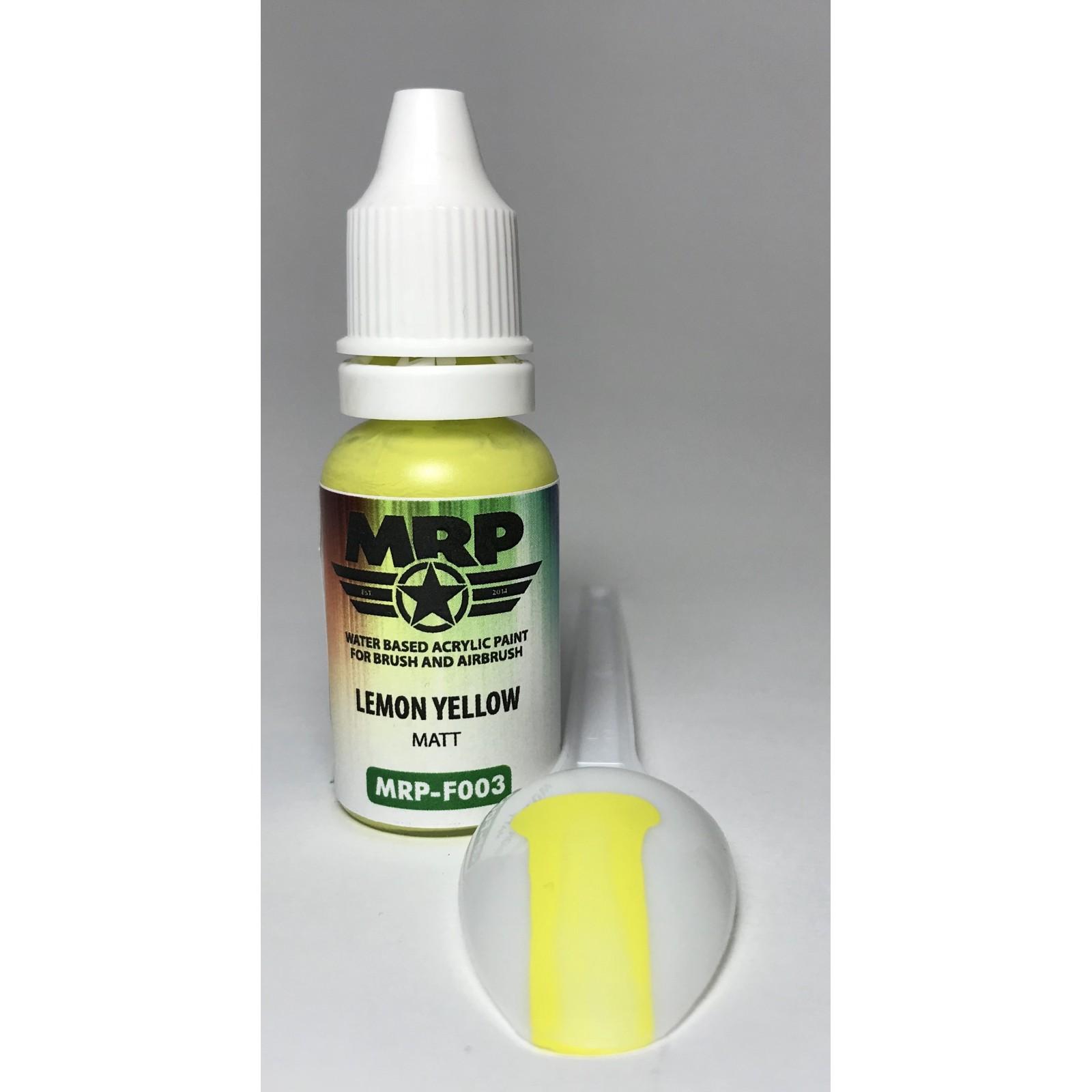 MRP-F003   Lemon Yellow