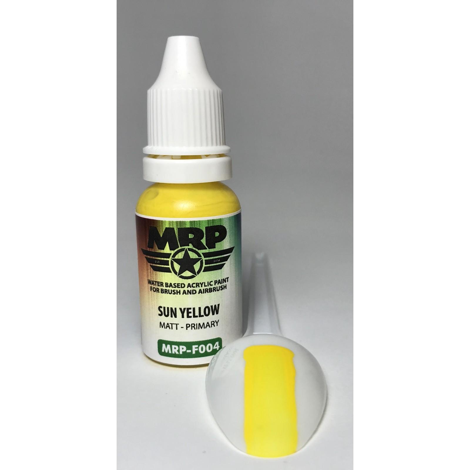 MRP-F004   Sun Yellow