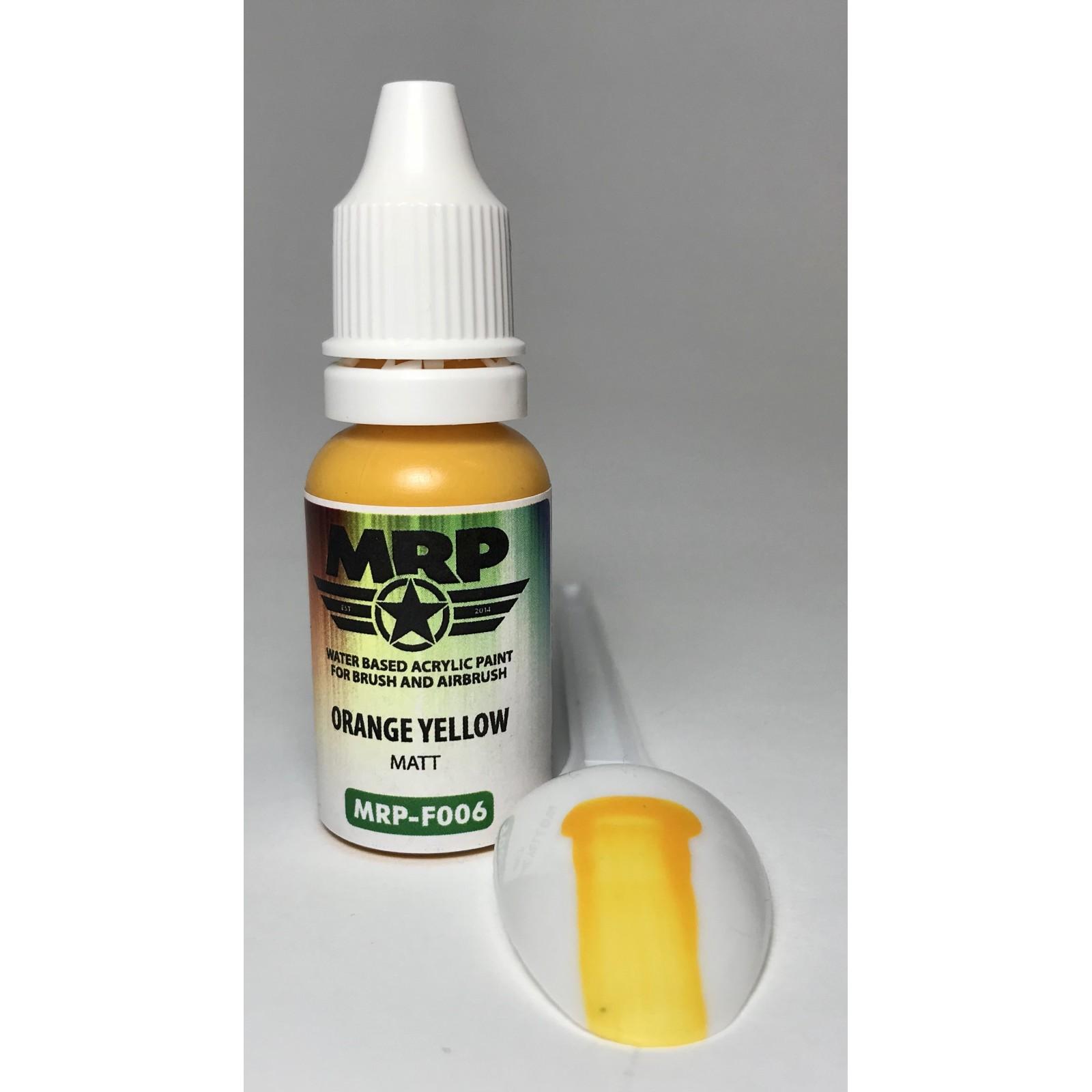 MRP-F006   Orange Yellow