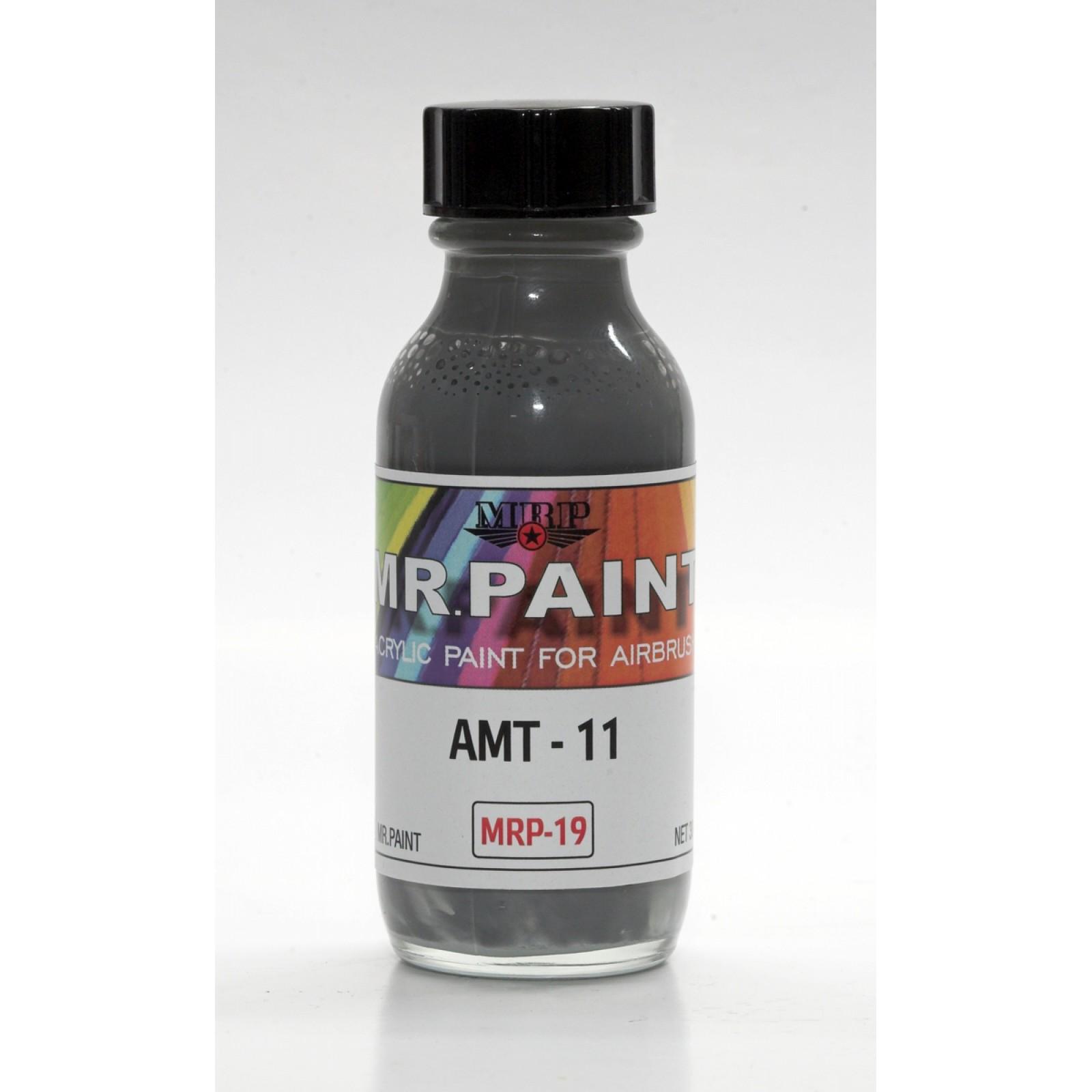 MRP-019  AMT-11  Blue  Grey