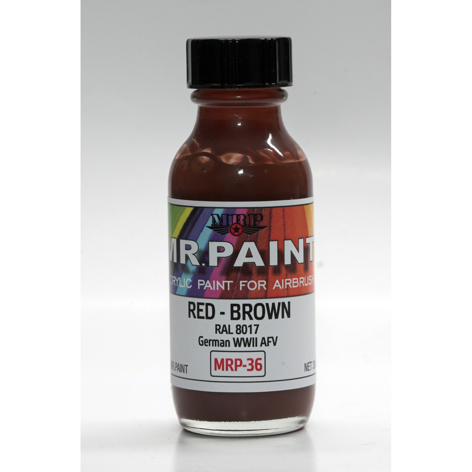 MRP-036 Red Brown  RAL 8017