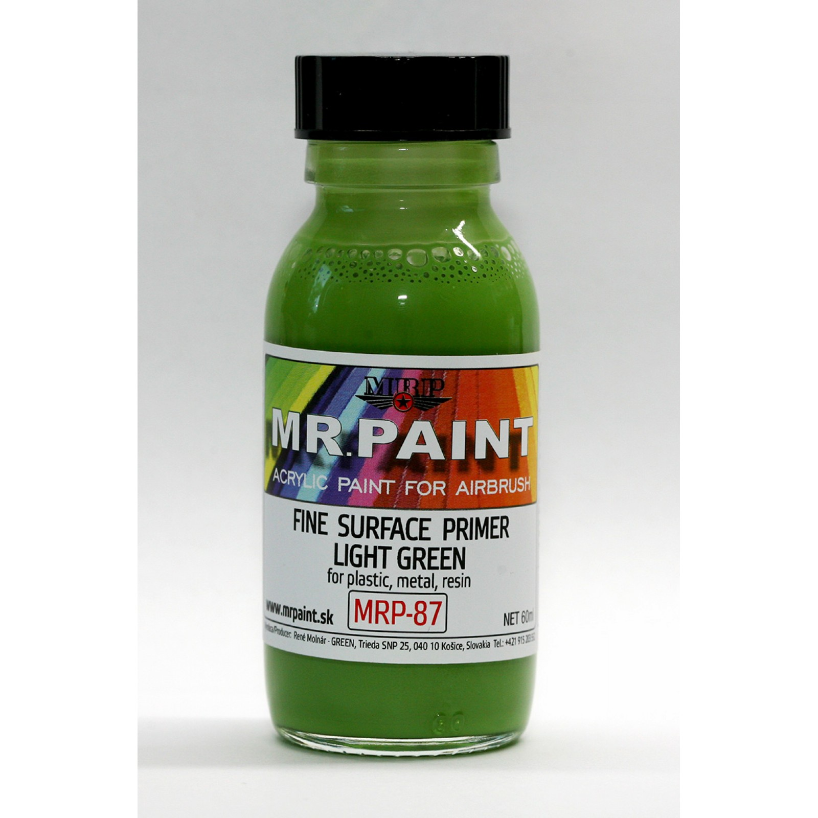 MRP-087  FINE SURFACE PRIMER-LIGHT GREEN
