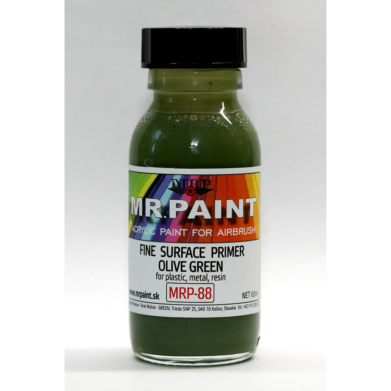 MRP-088  FINE SURFACE PRIMER-OLIVE GREEN