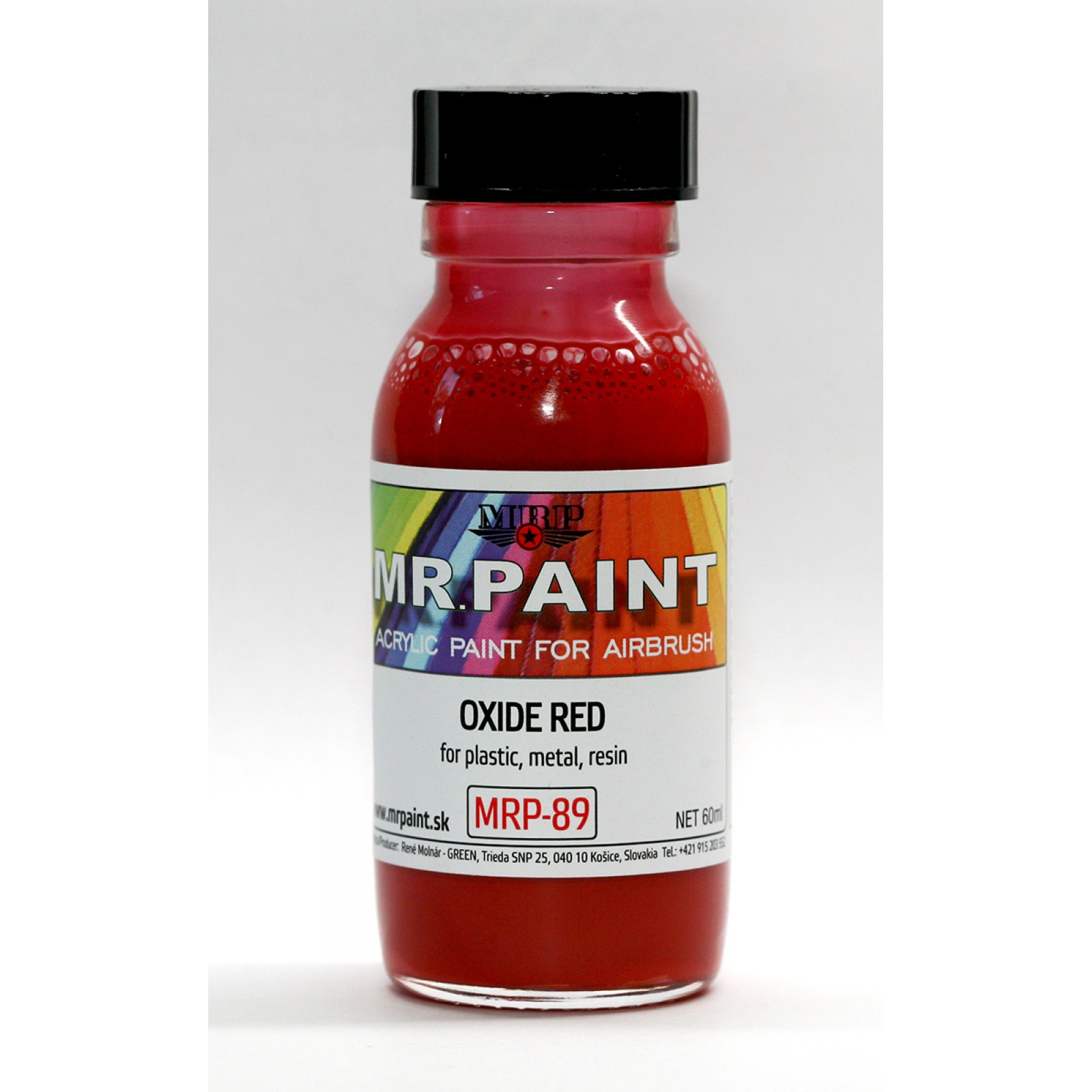 MRP-089  FINE SURFACE PRIMER-OXIDE RED