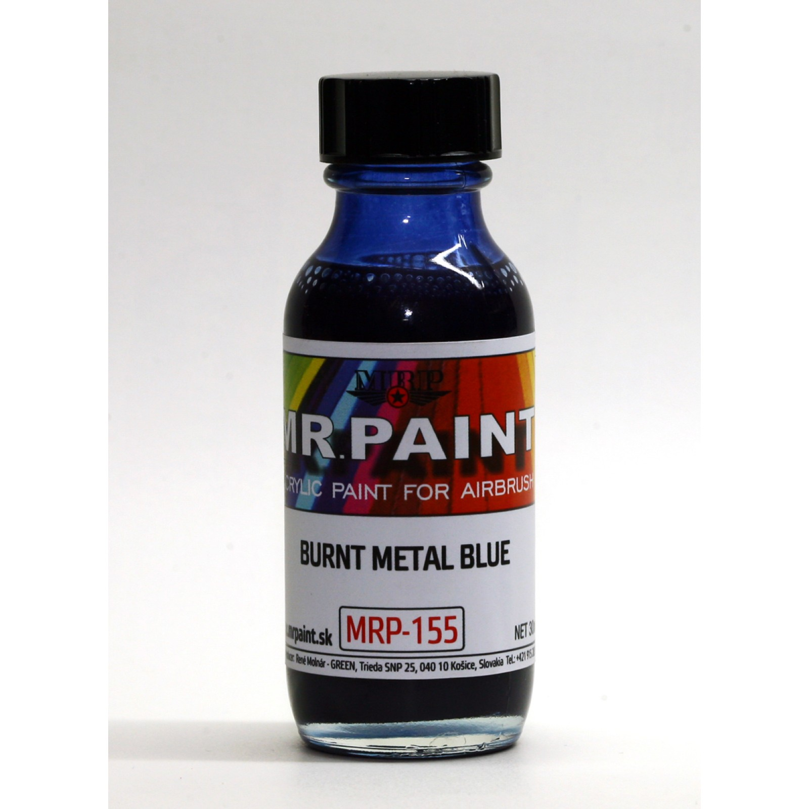 MRP-155  Burnt Metal Blue