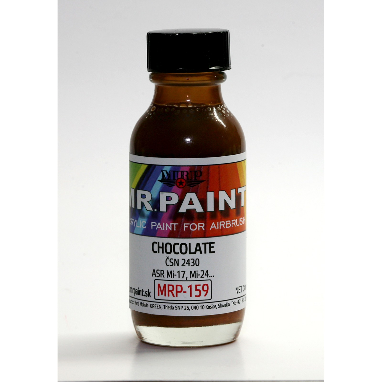 MRP-159  CHOCOLATE   ČSN 2430