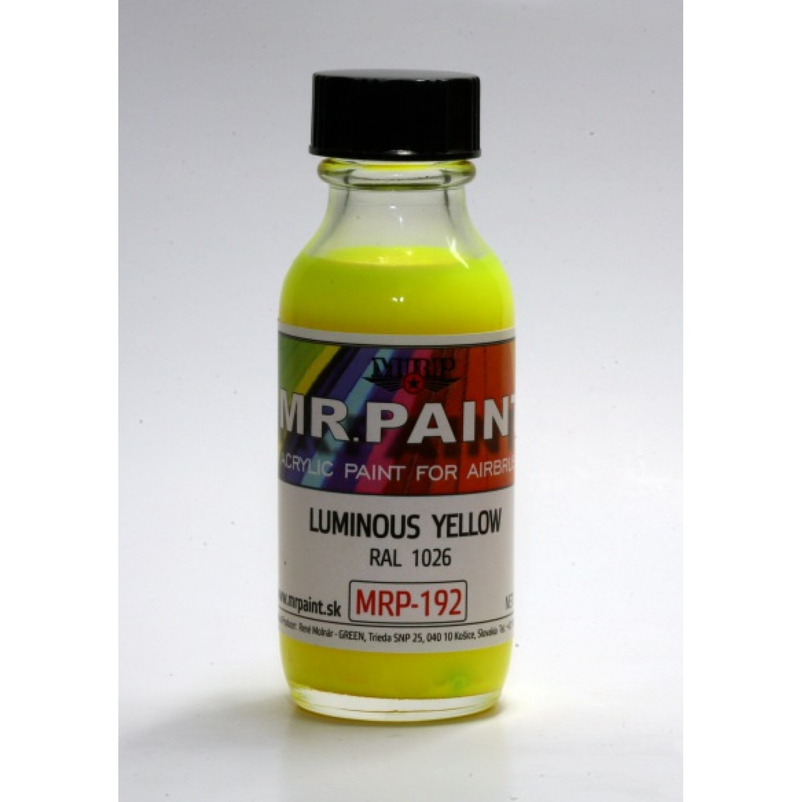 MRP-192  LUMINOUS  YELLOW  RAL 1026