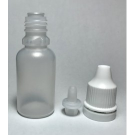 Plastic Bottle for Paints  17ml