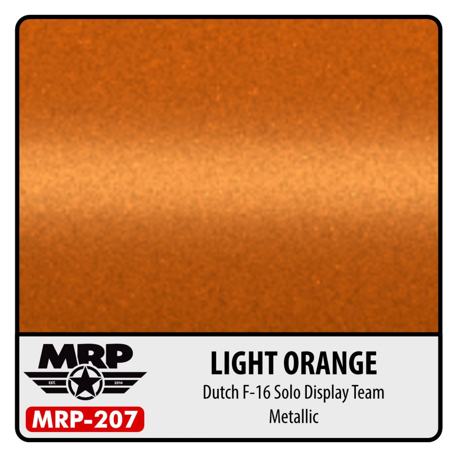 MRP-207  LIGHT  ORANGE  F-16