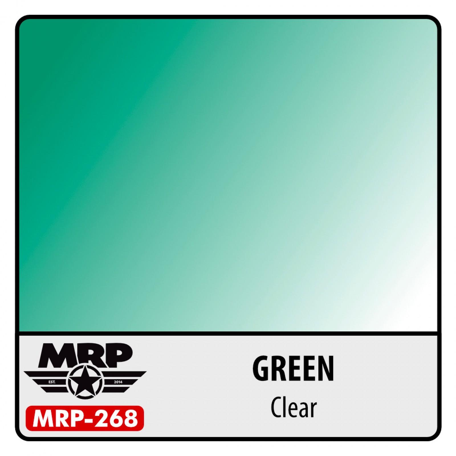MRP-268  GREEN  clear