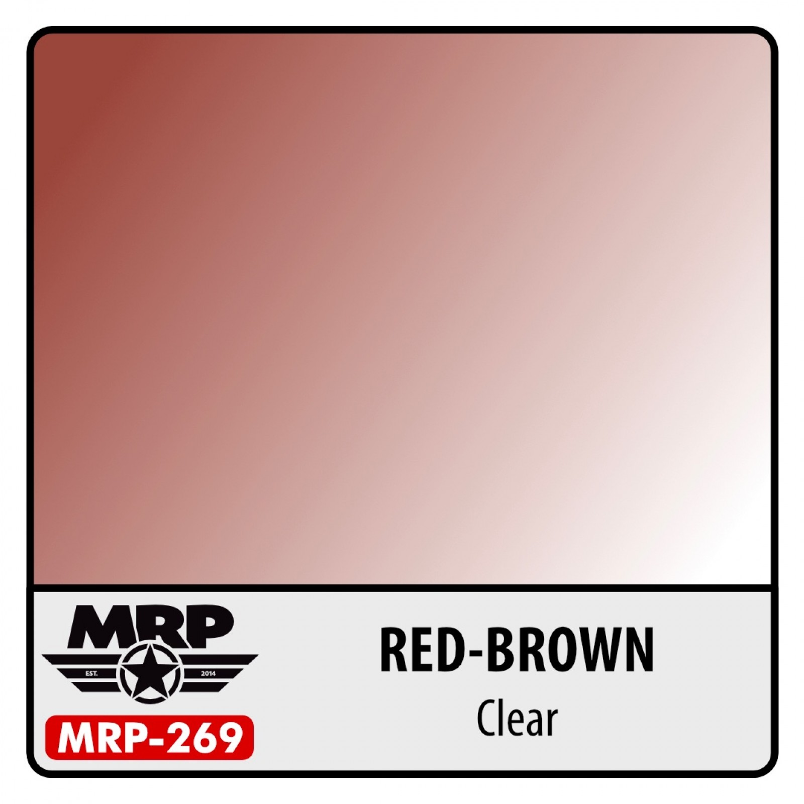 MRP-269   RED-BROWN  clear