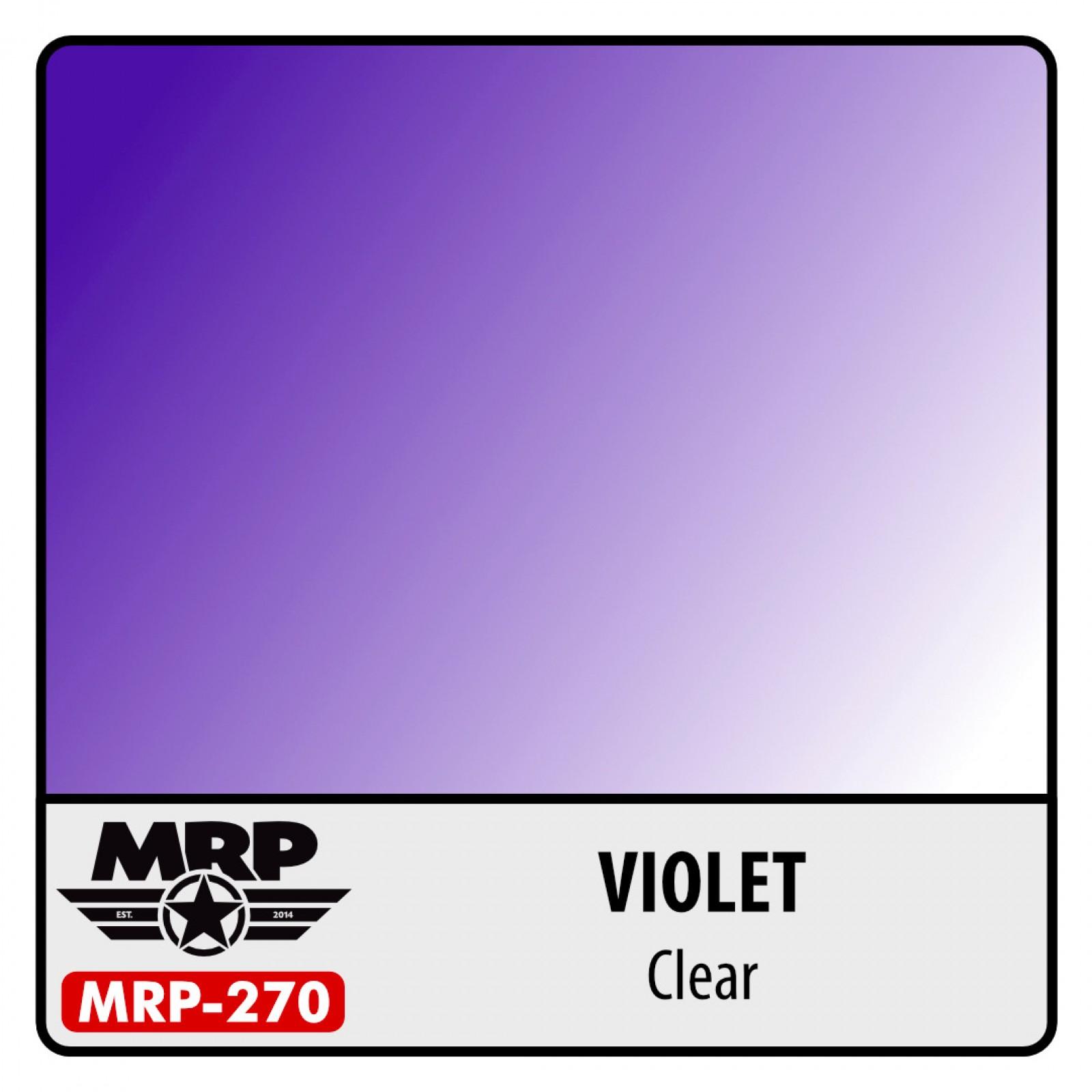 MRP-270   VIOLET  clear