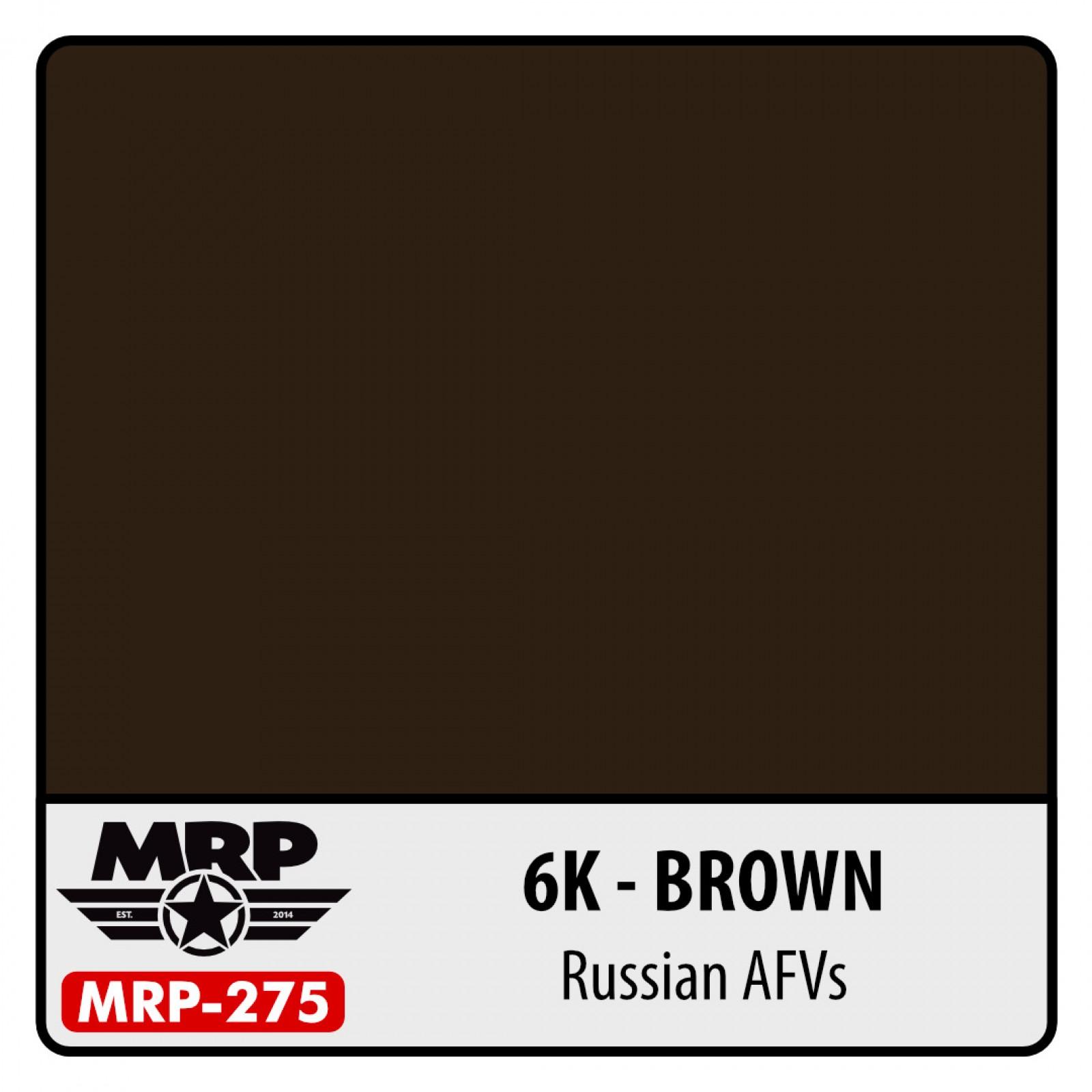 MRP-275  6K  Russian Brown