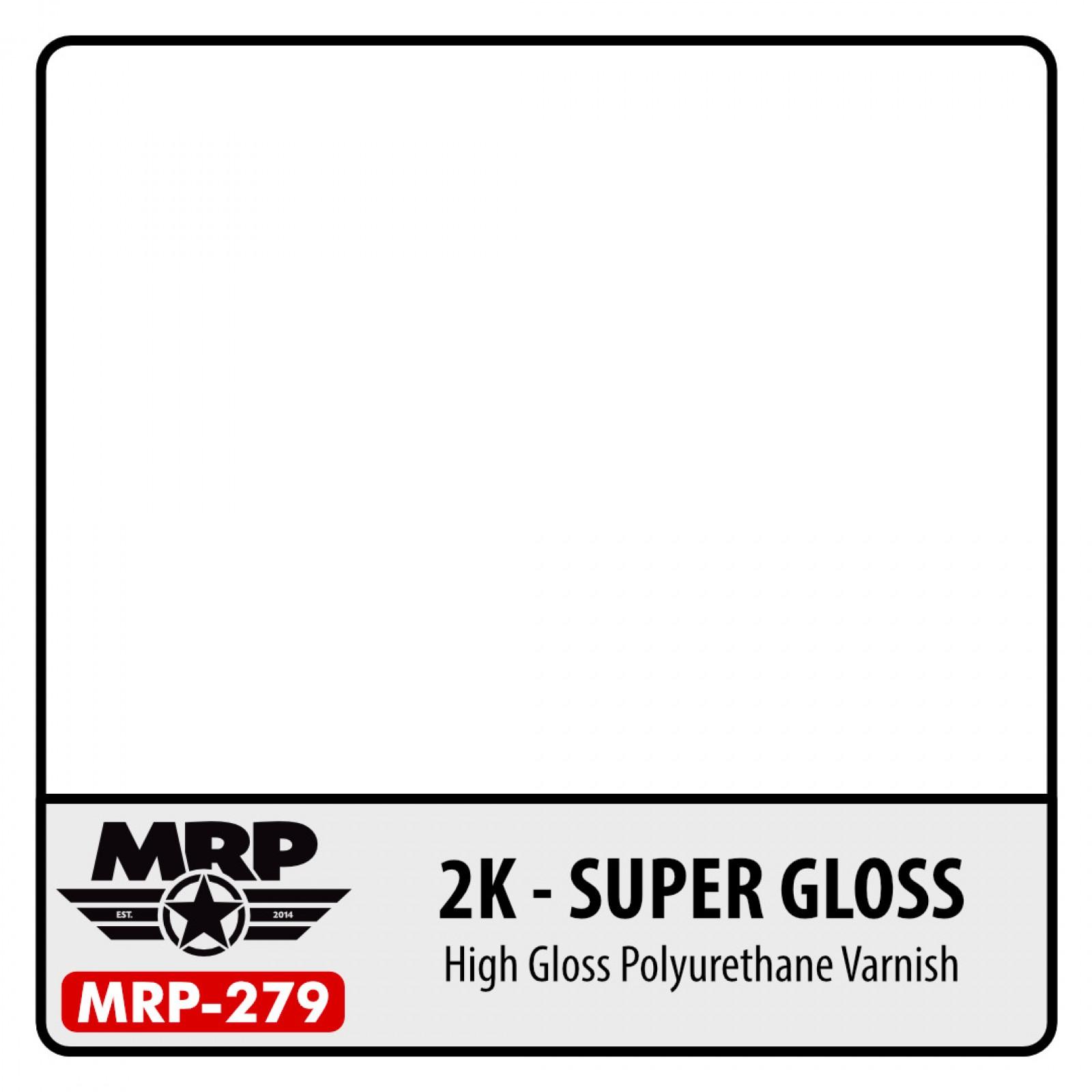 MRP-279  2K - SUPER CLEAR 2x15ml