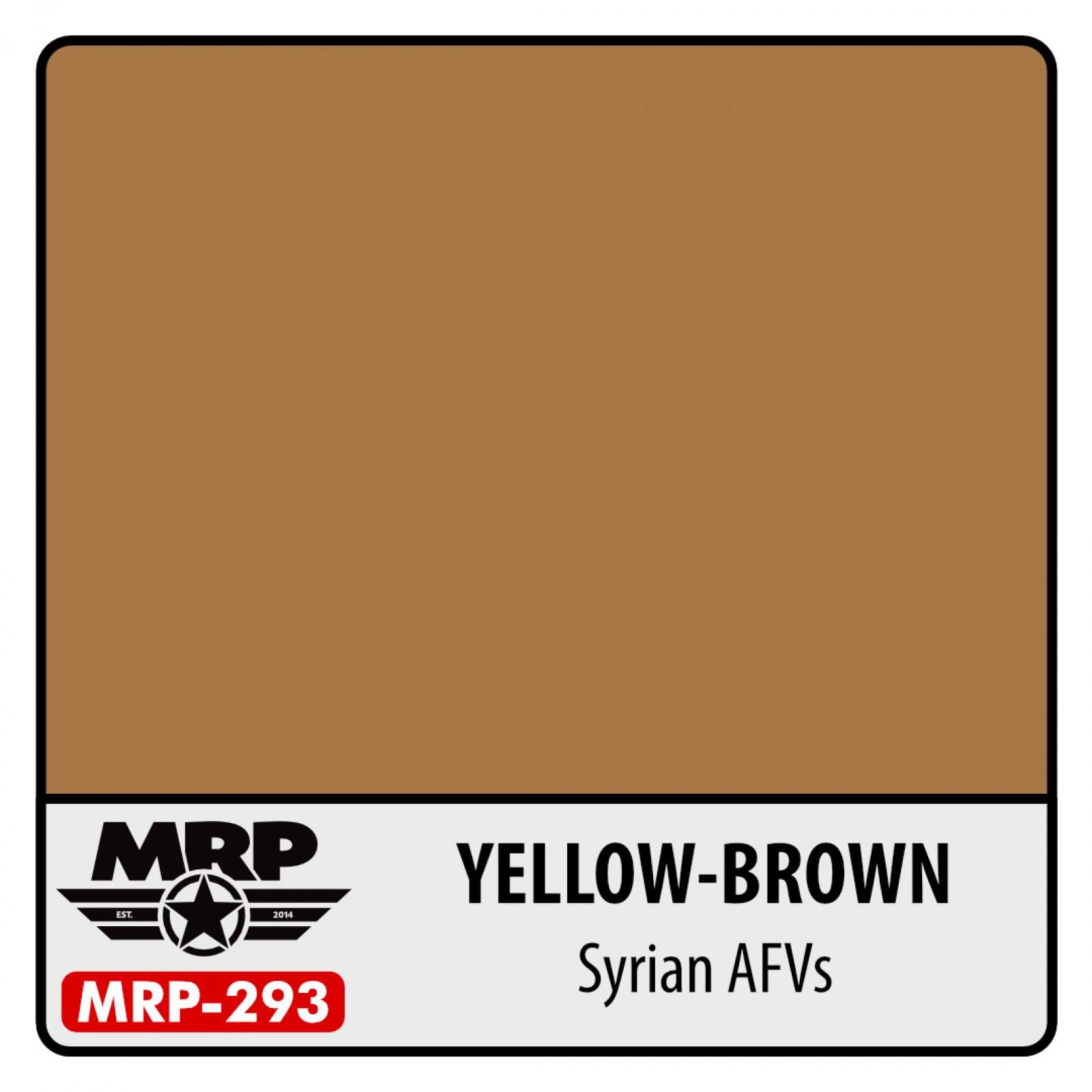 MRP-293  YELLOW BROWN  Syrian AFVs