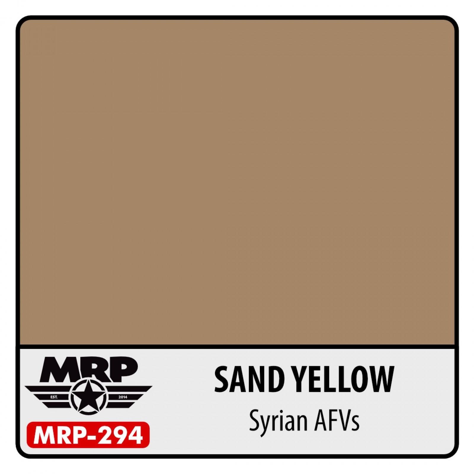 MRP-294  SAND YELLOW  Syrian AFVs