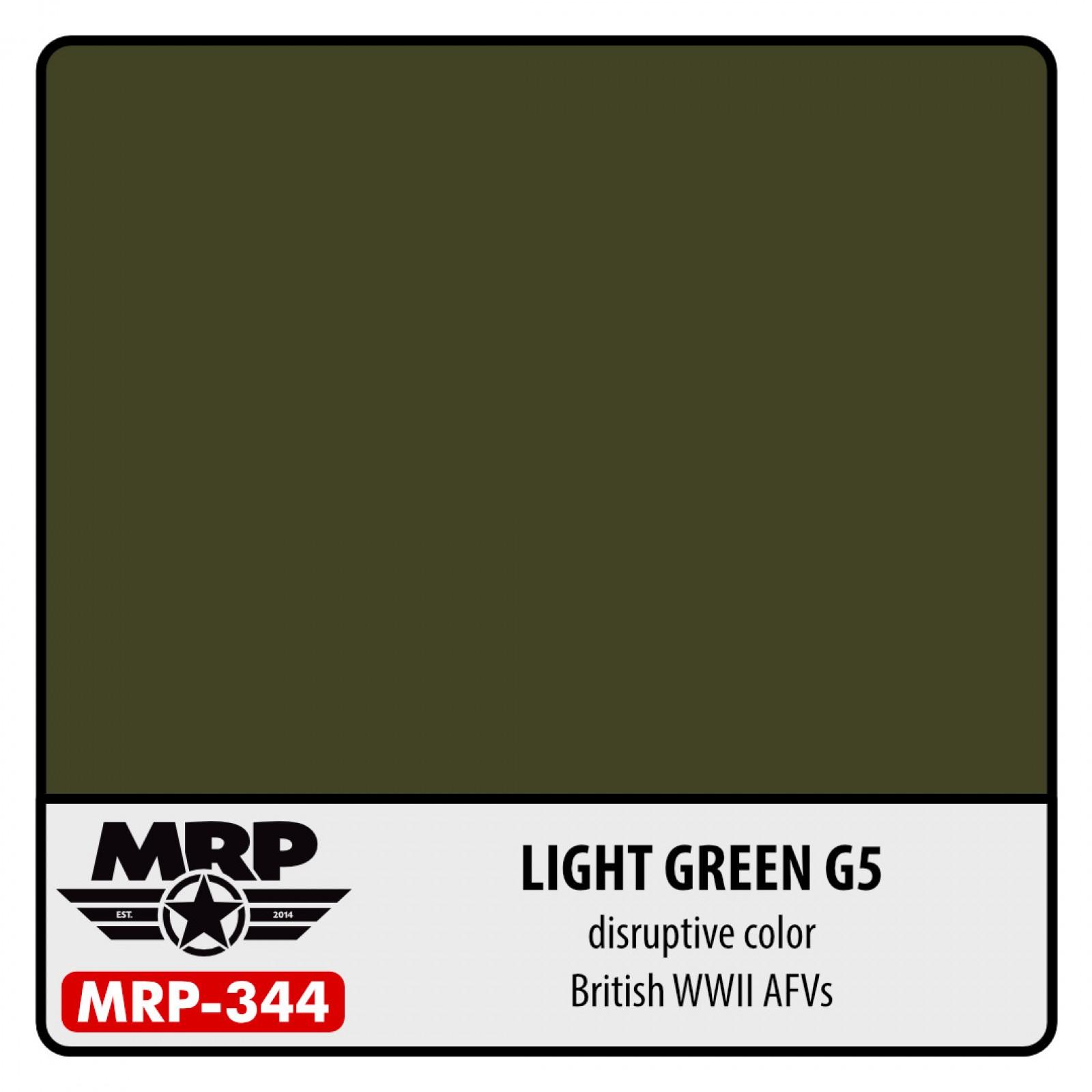 MRP-344  LIGHT GREEN G5