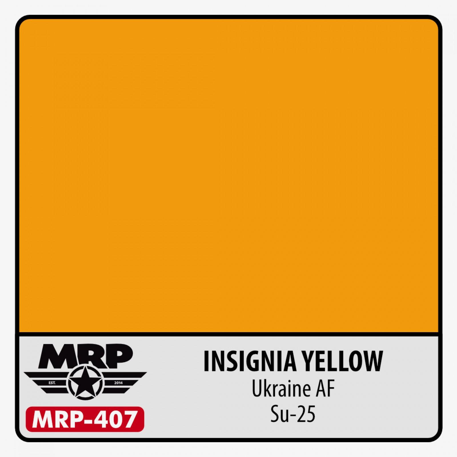 MRP-407  INSIGNIA YELLOW