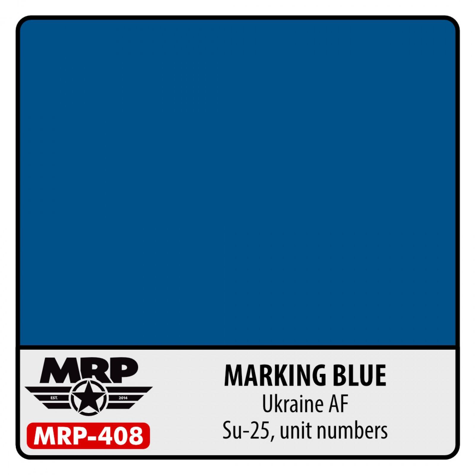 MRP-408  MARKING BLUE