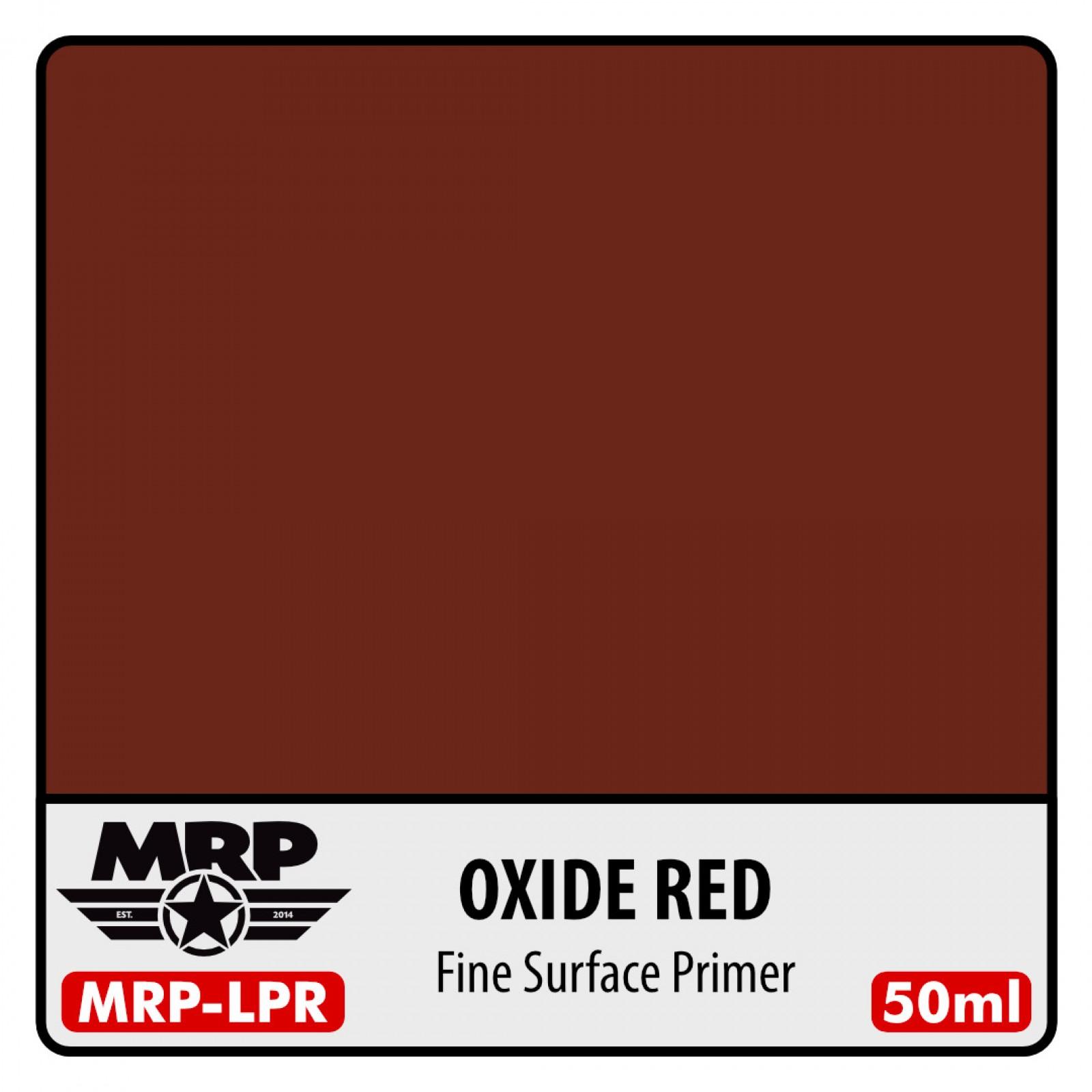 MRP-LPR  FINE SURFACE PRIMER-OXIDE RED